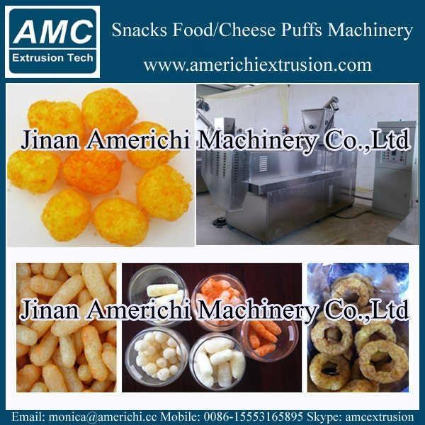 休闲小食品膨化机生产设备 3