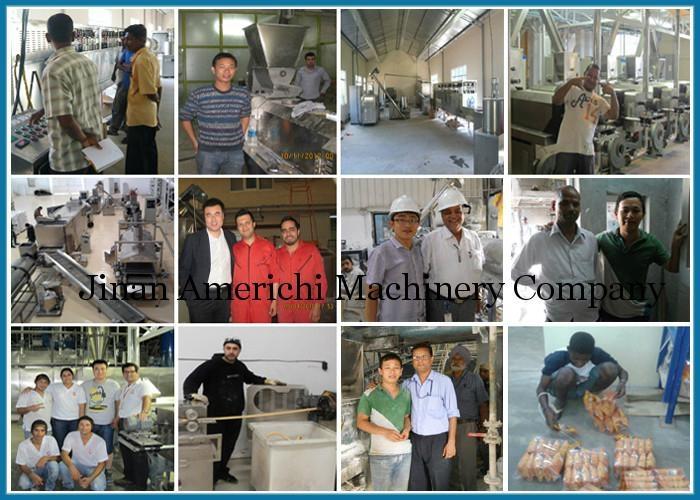 休闲小食品膨化机生产设备 6