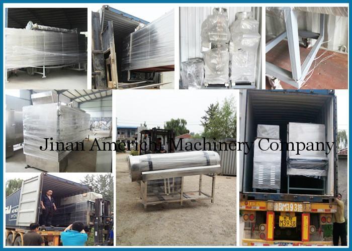 休閑小食品膨化機生產設備 7
