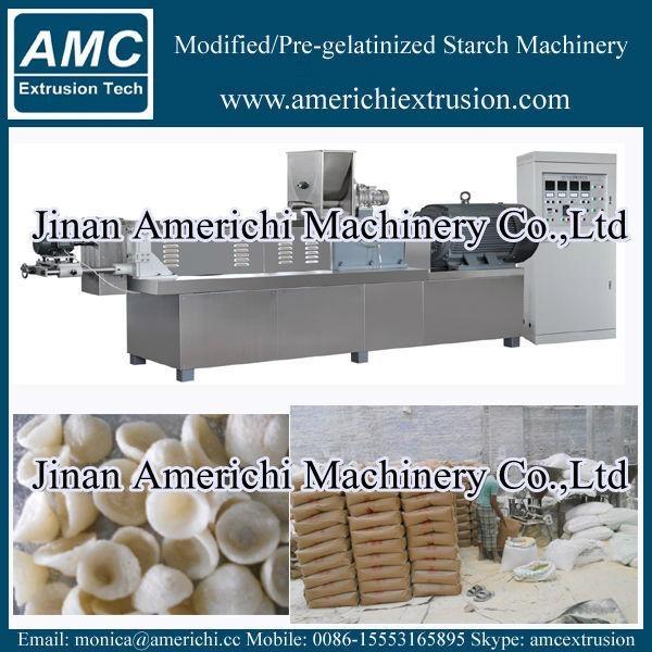 Pregelatinized modified Starch Machinery 1