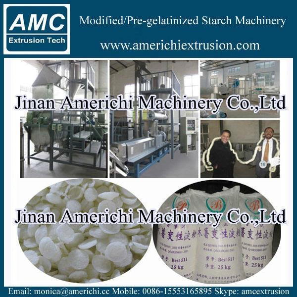 Pregelatinized modified Starch Machinery 4