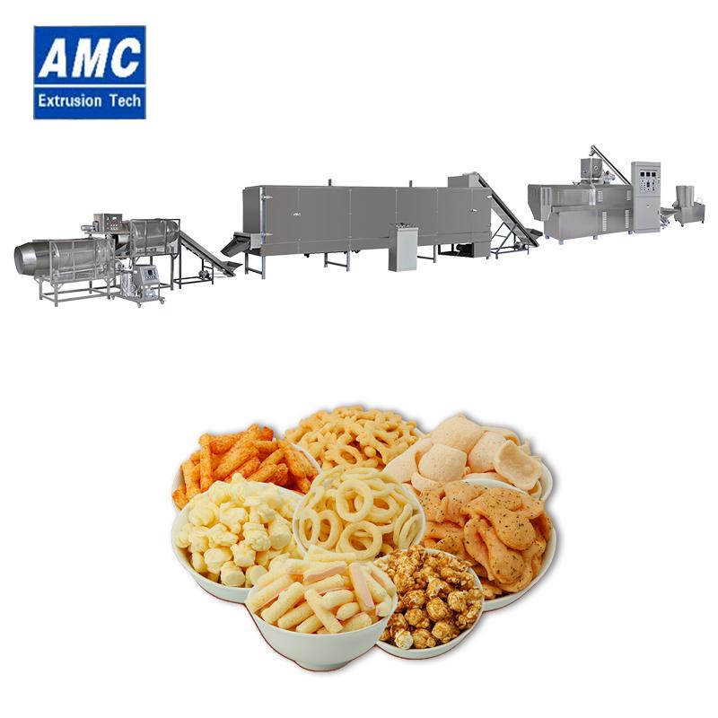 膨化小食品设备 6