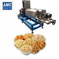 Cheese puffed snacks machine