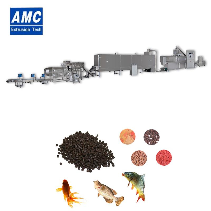 膨化鱼饲料生产线 9