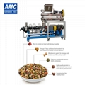 Dry dog food extrusion machines