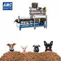 Dog food extruder with steam system
