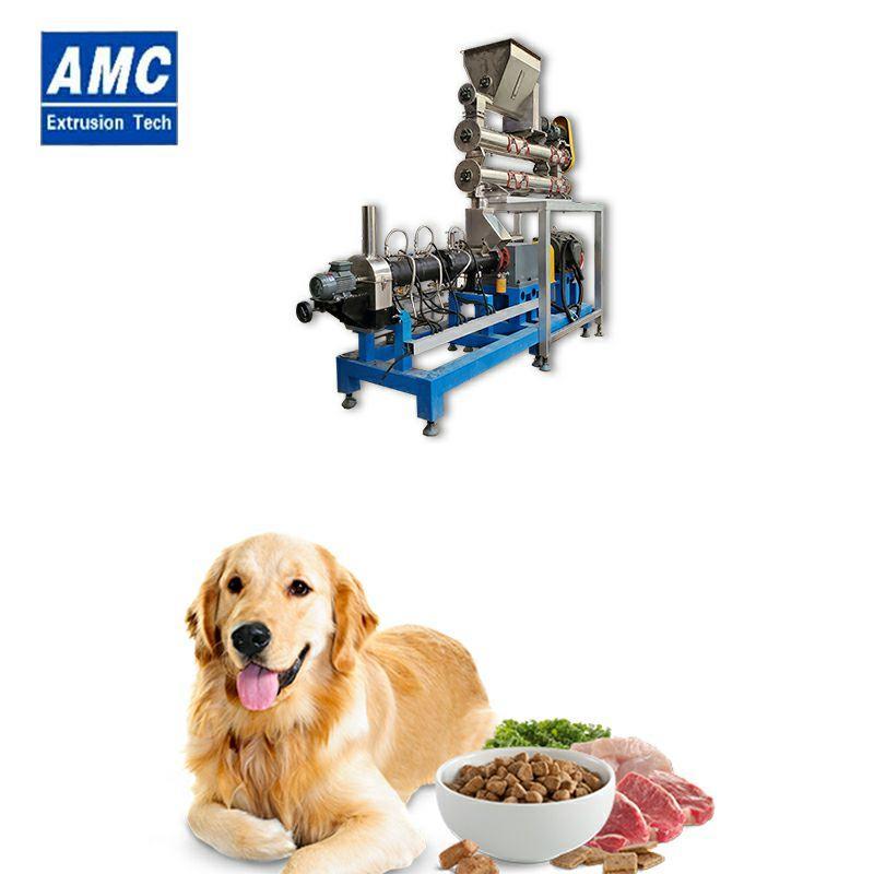 膨化狗糧加工設備 11