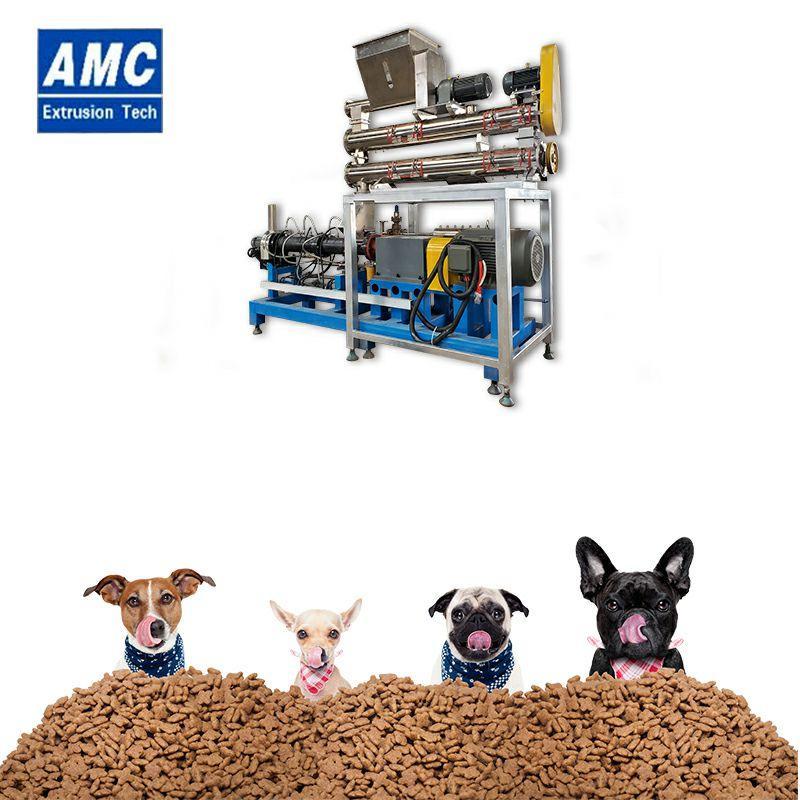 膨化狗糧加工設備 6