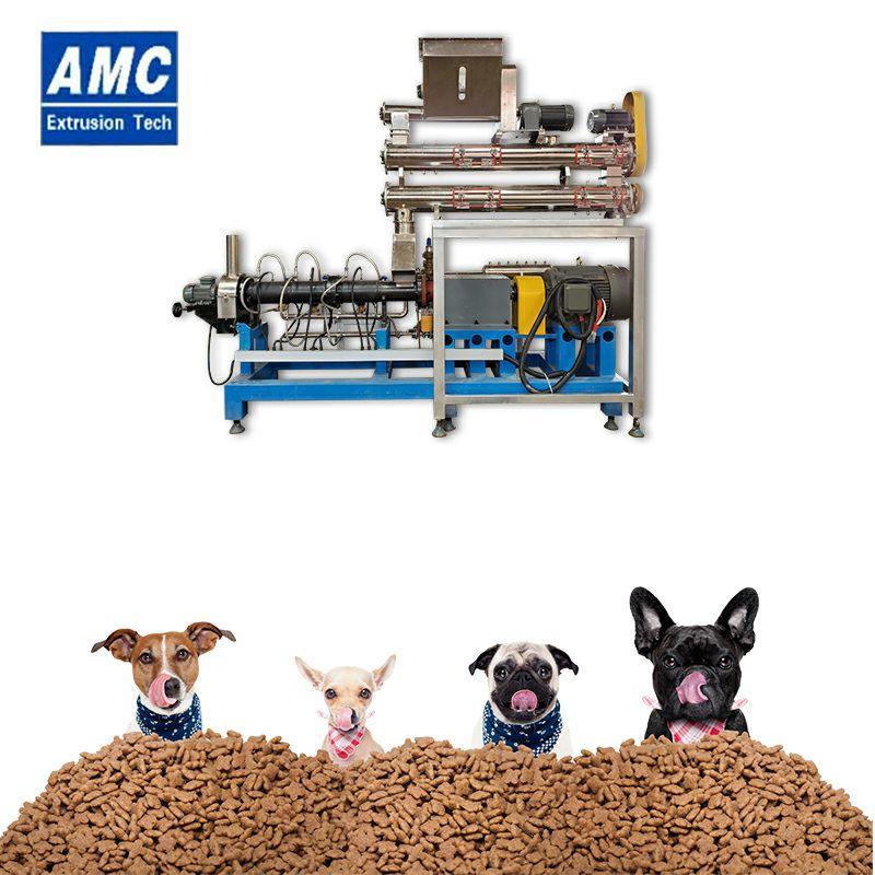 膨化狗糧加工設備 7