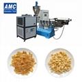 Frying pellet snacks food machine