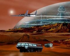 """在贫瘠荒原建造""""火星城"""""""