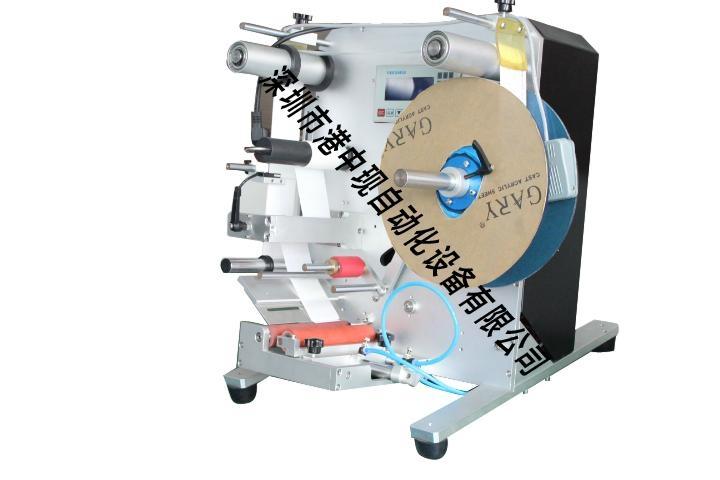 GZX-500B Semi-auto Round Bottle Labeling Machine 1