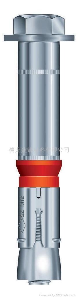大型設備安裝抗震動機械錨栓 1