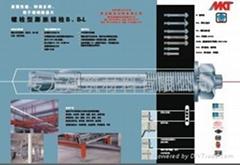 正宗 MKT德國曼卡特 8.8級 螺栓式錨栓