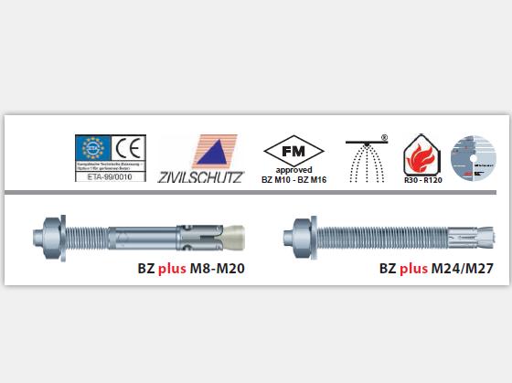 現貨供應規格M16x170  品牌MKT曼卡特型號BZ+ 開裂混凝土螺栓式錨栓 2