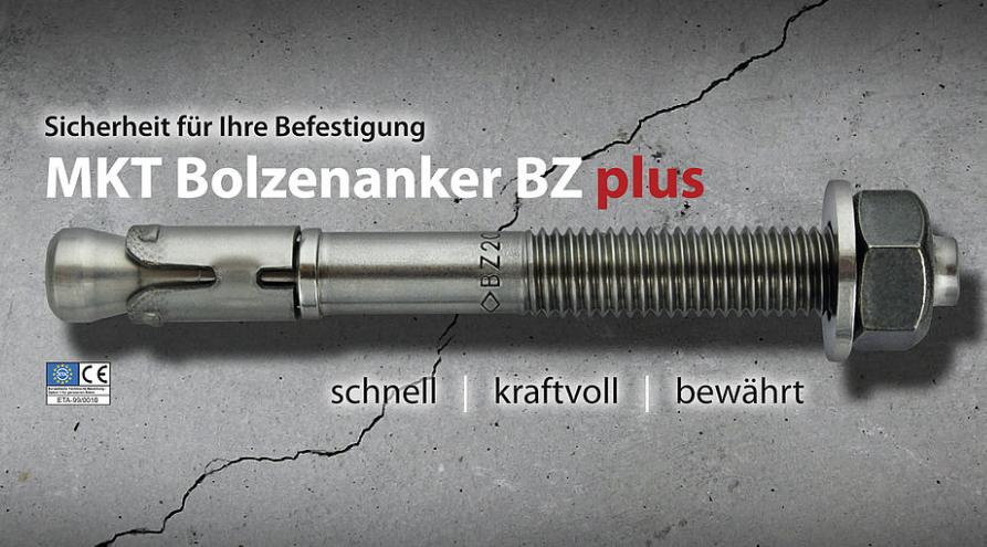 現貨供應規格M16x170  品牌MKT曼卡特型號BZ+ 開裂混凝土螺栓式錨栓 3
