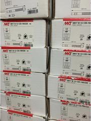 现货供应8.8级镀锌钢材料品牌MKT曼卡特规格12x220 高强锚固螺栓型锚栓