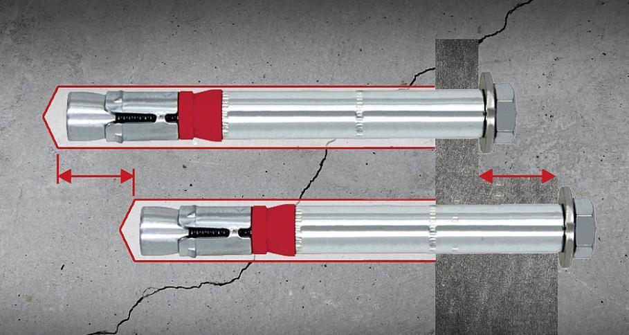 現貨供8.8級型號SZ-S 18x147套管式抗震動切底錨栓 1