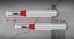 現貨供8.8級型號SZ-S 18x147套管式抗震動切底錨栓