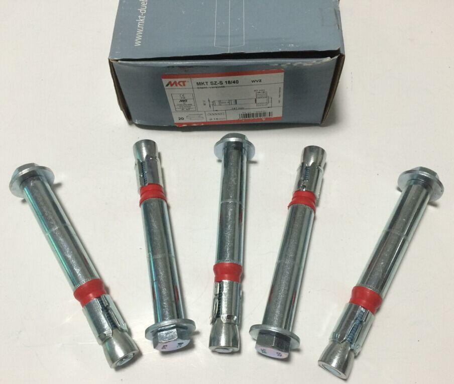 現貨供8.8級型號SZ-S 18x147套管式抗震動切底錨栓 2