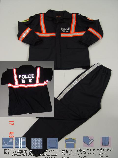 警察雨衣 1