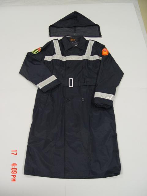 警察尼龙雨衣 1