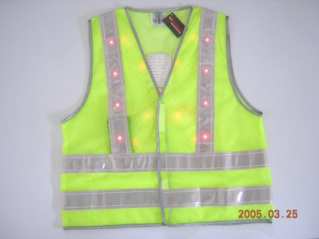 EN471 LED反光背心 1