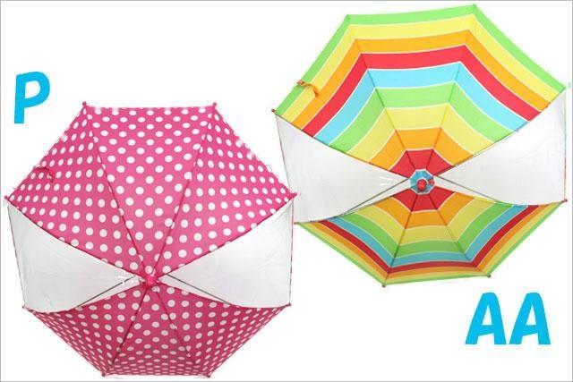 女孩雨伞 1