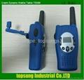 wind-up walkie talkie with Crank dynamo