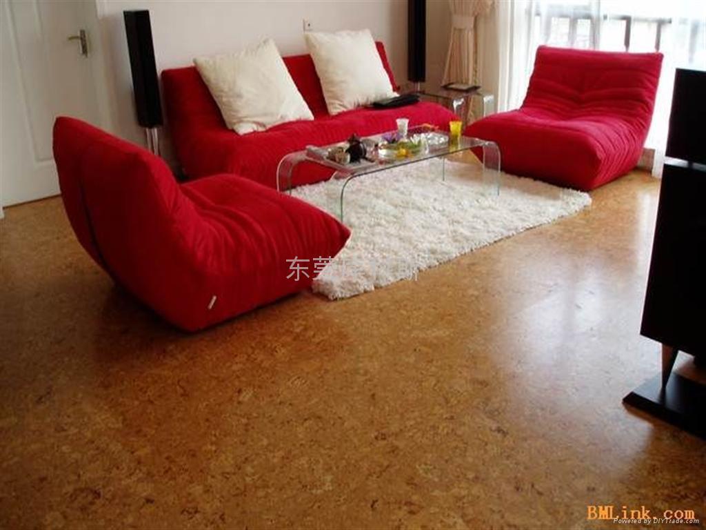 广东软木墙板地板 2