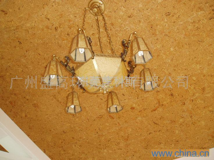 广东软木墙板地板 4