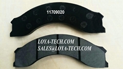 11709020 11707778 - BRAKE PAD KIT - SUIT VOLVO A25D A35D  - LOYA TECH