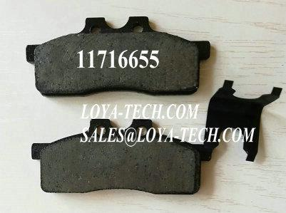 11716655   244-7845   564763 - BRAKE PAD KIT - SUIT VOLVO BL60 BL61 BL70 BL71 - LOYA TECH