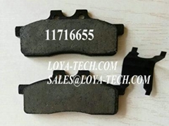 11716655  244-7845 564763 - BRAKE PAD KIT - SUIT VOLVO BL60 BL61 BL70 BL71