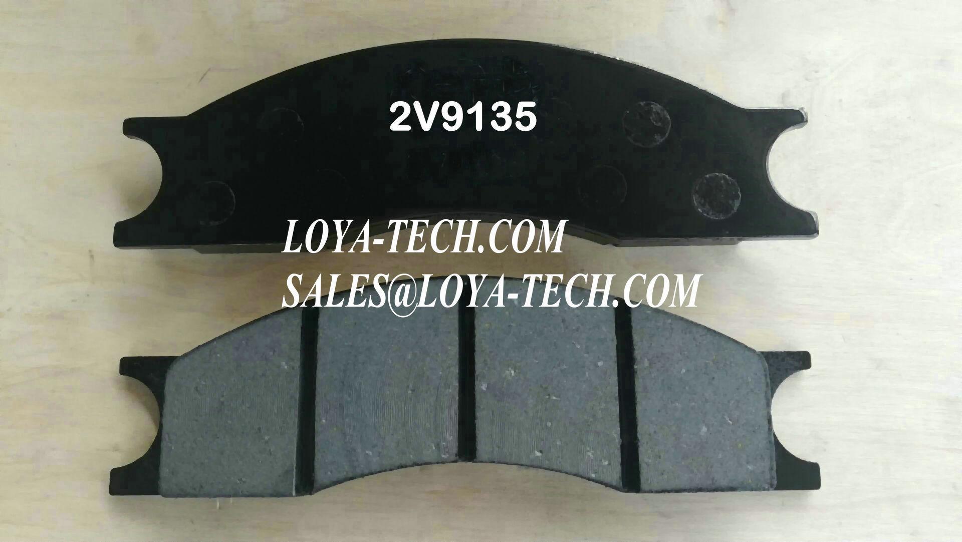2V9135 8R0821 - BRAKE PAD KIT - SUIT CAT 613 950 3304 - LOYA TECH