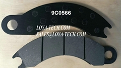 9C0566  4V7061 - BRAKE PAD KIT - SUIT CAT 725 730 D250E D300E  - LOYA TECH
