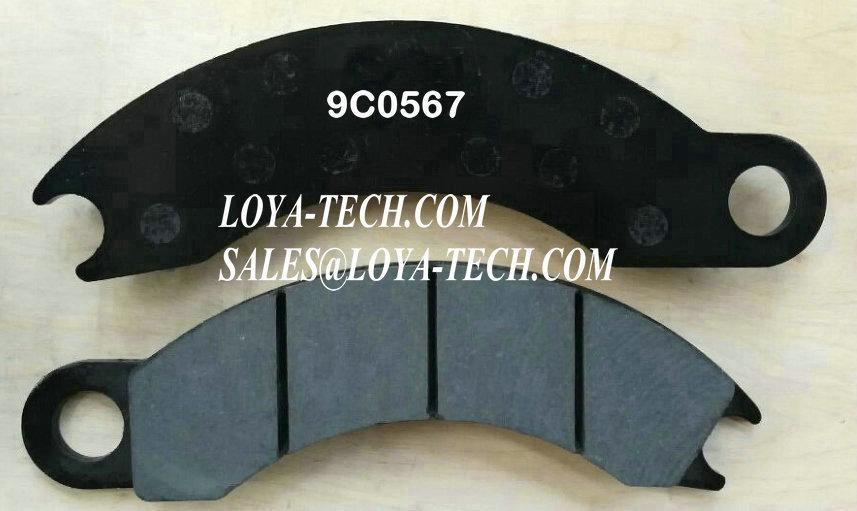 9C0567  4V7062 - BRAKE PAD KIT - SUIT CAT 725 730 D250E D300E - LOYA TECH
