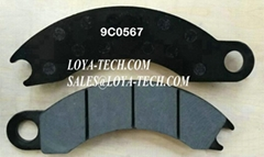 9C0567  4V7062 - BRAKE PAD KIT - SUIT CAT 725 730 D250E D300E - LOYA TECH