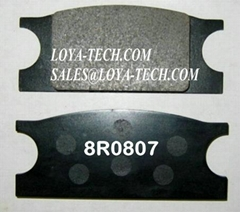 8R0807 3V5465 - BRAKE PAD KIT - SUIT CAT 528B 530B 3306 - LOYA TECH
