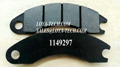 1149297 1149299 - BRAKE PAD KIT - SUIT CAT 3408 3412 3508B 3512 - LOYA TECH