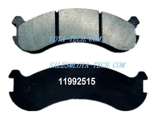 11992515 15266892 - BRAKE PAD KIT - SUIT VOLVO A20 A25 A30 A35 A40 - LOYA TECH