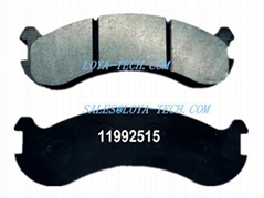 11992515 15266892 - BRAKE PAD KIT - SUIT VOLVO A20 A25 A30 A35 A40 - LOYA TECH