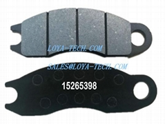 15265398 17218536 - BRAKE PAD KIT - SUIT VOLVO A25F A30F - LOYA TECH