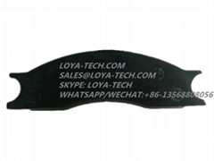 N7356  D77519 - CASE BRAKE PAD KIT - LOYA TECH