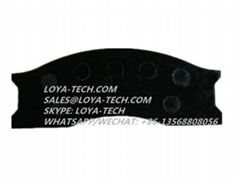 11709042 6213353 - BRAKE PAD KIT - SUIT VOLVO A25 A30 L70 L120 - LOYA TECH
