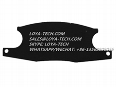 2415U136S5  YY2618-7030 - CARLISLE BRAKE PAD KIT - LOYA TECH