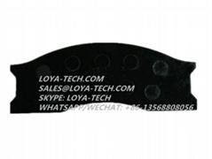 333/S9336  998/10399 - JCB BRAKE PAD KIT - LOYA TECH