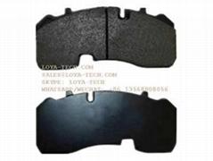 WVA29165 WVA29268 COMMERCIAL VEHICLE BRAKE PAD CV -LOYA TECH
