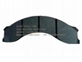 15051576 15273421 - TEREX BRAKE PAD KIT