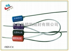 Steel Wire Lead Seal container seal security